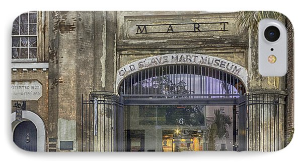 Old Slave Mart Museum Phone Case by Lynn Palmer