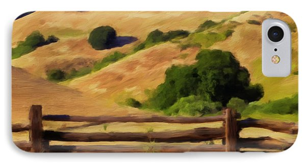 Old Split Rail Fence Phone Case by Michael Pickett