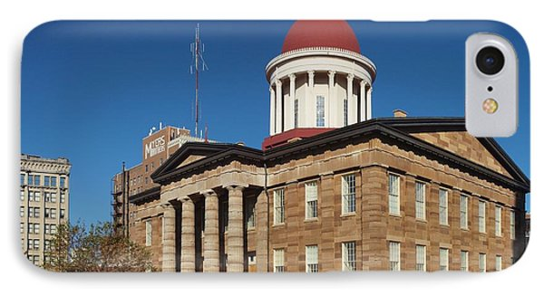 Old State Capital Springfield Illinois IPhone Case by Joshua House