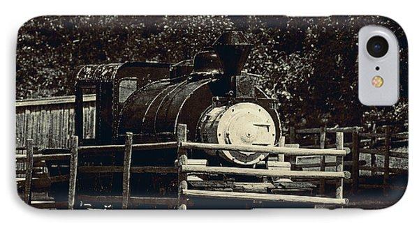 Old Steam Locomotive  Phone Case by Maria Angelica Maira