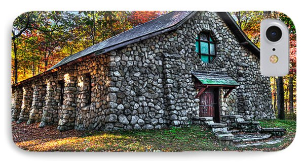 Old Stone Lodge IPhone Case by Anthony Sacco