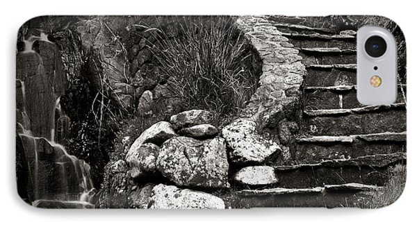 Old Stone Stairway Phone Case by Charmian Vistaunet