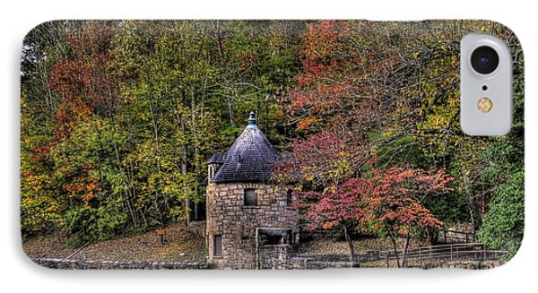 IPhone Case featuring the photograph Old Stone Tower At The Edge Of The Forest by Jonny D