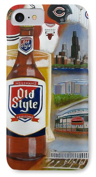 Old Style Chicago Style IPhone Case by Craig Wade