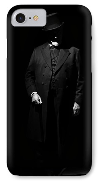 Vintage Gentlemen With Tall Hat - Style Has Not Deadline IPhone Case