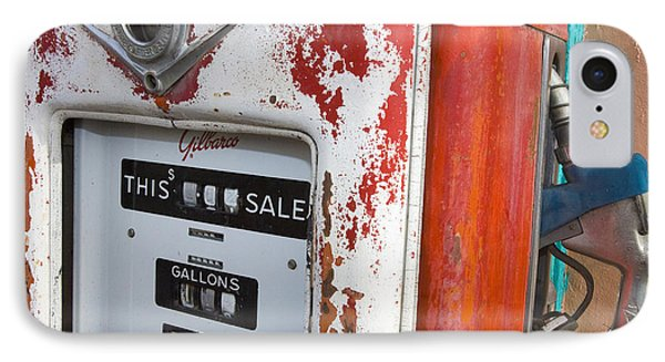 Old Style Gilbarco Gas Pump IPhone Case by Jason O Watson