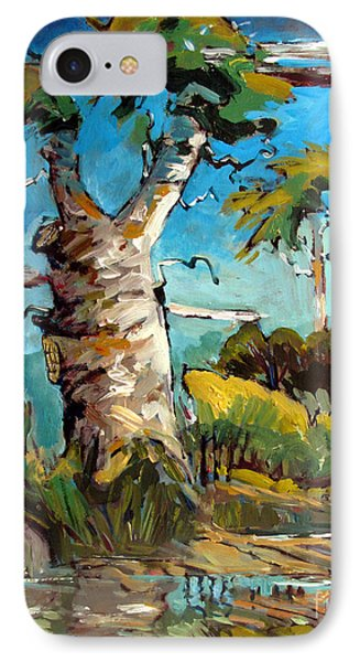 Old Sycamore Snag IPhone Case by Charlie Spear