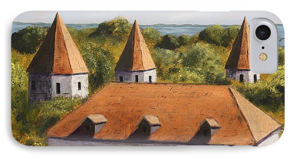 Old Tallinn IPhone Case by Alan Mager