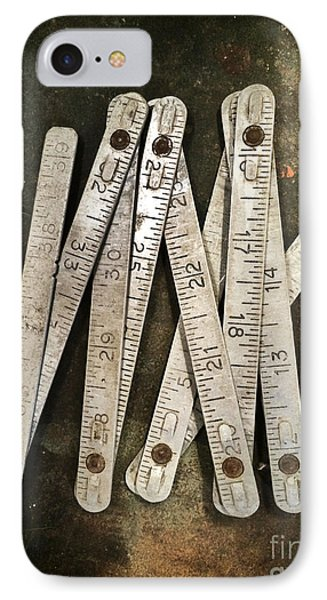 Old Tape-measure IPhone Case by Carlos Caetano