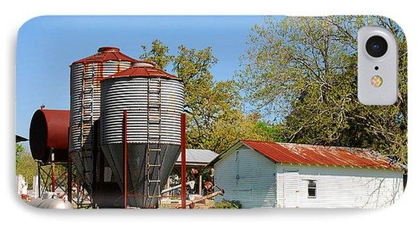 Old Texas Farm IPhone Case by Connie Fox