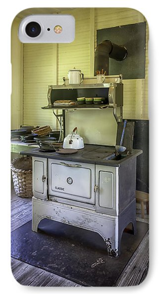 Old Timey Stove Phone Case by Lynn Palmer