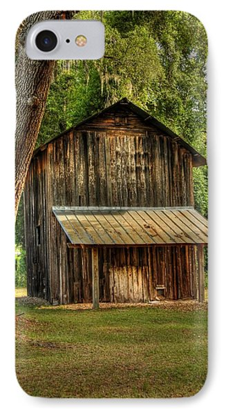 IPhone Case featuring the photograph Old Tobacco Barn by Donald Williams