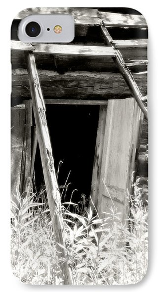 Old Tobacco Barn Phone Case by Michael Allen