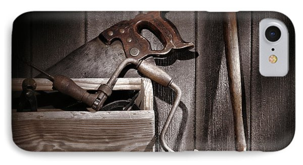 Old Tools Phone Case by Olivier Le Queinec