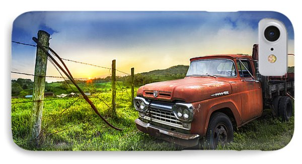 Old Tow Truck IPhone Case