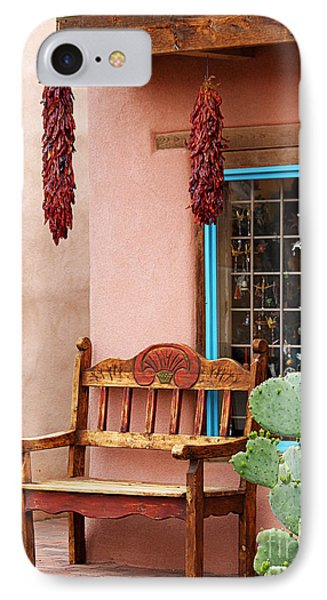 Old Town Albuquerque Shop Window IPhone Case by Catherine Sherman