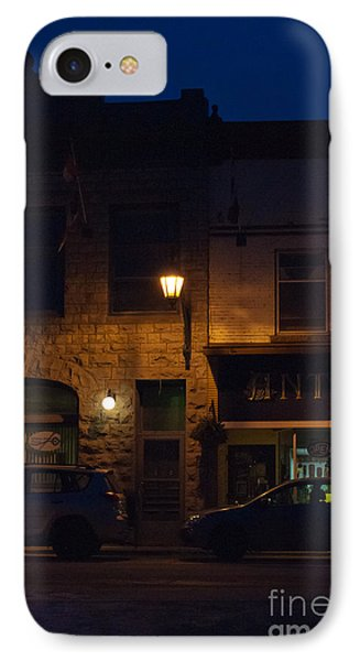 Old Town At Night Phone Case by Cheryl Baxter