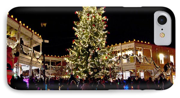 Old Town Christmas Tree IPhone Case