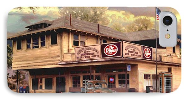 Old Town Irvine Country Store IPhone Case by Ron Chambers