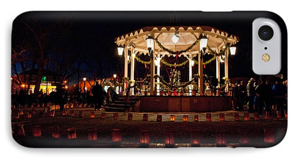 Old Town Luminarias And Bandstand IPhone Case
