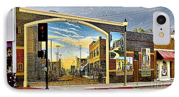 IPhone Case featuring the photograph Old Town Mural by Jason Abando