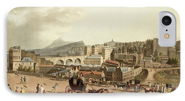 Old Town Of Edinburgh IPhone Case by British Library
