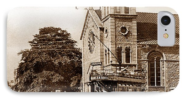 Old Town Swindon England IPhone Case by The Keasbury-Gordon Photograph Archive