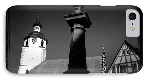 Old Town Waldenbuch In Germany IPhone Case by Matthias Hauser