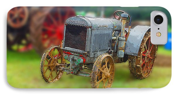 IPhone Case featuring the photograph Old Tractor Print by B Wayne Mullins