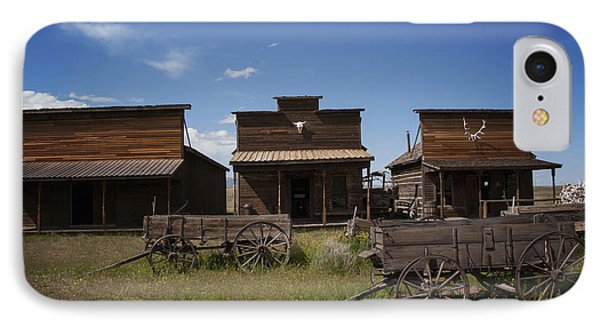 Old Trail Town IPhone Case by Juli Scalzi