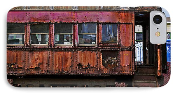 Old Train Car Phone Case by Garry Gay