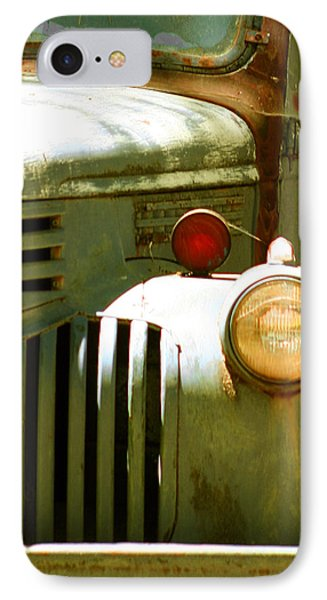 Old Truck Abstract Phone Case by Ben and Raisa Gertsberg