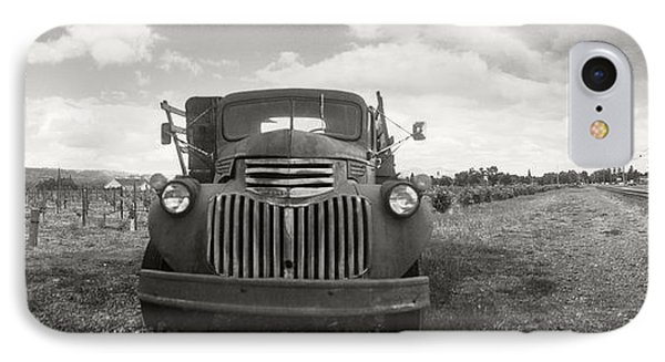 Old Truck In A Field, Napa Valley IPhone Case by Panoramic Images