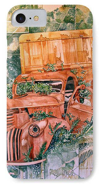 Old Truck Phone Case by Lance Wurst