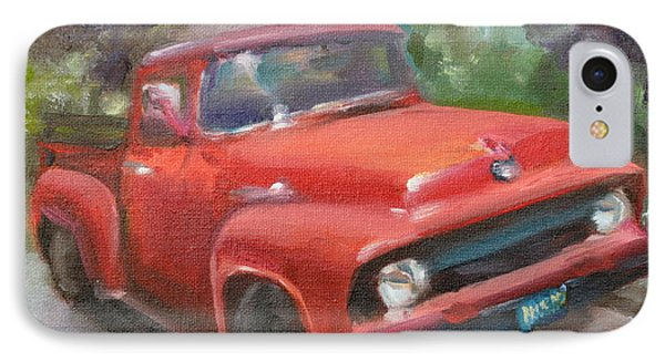 Old Truck IPhone Case by Lindsay Frost