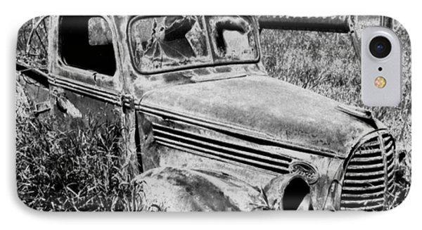 Old Truck IPhone Case by Tlynn Brentnall