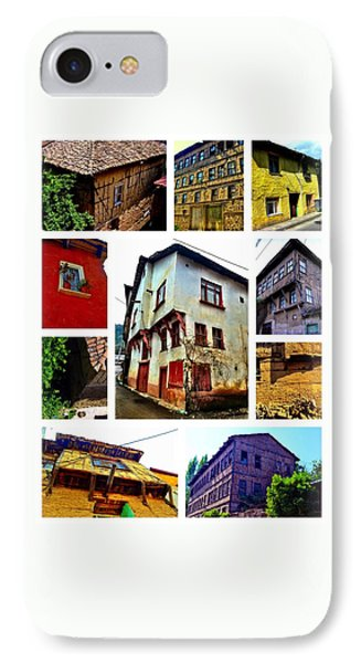 Old Turkish Houses IPhone Case by Zafer Gurel