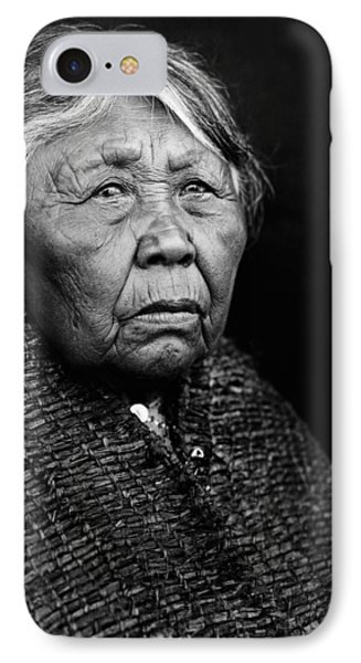 Old Twana Woman Circa 1913 IPhone Case