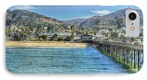 Old Ventura City From The Pier IPhone Case by David Zanzinger