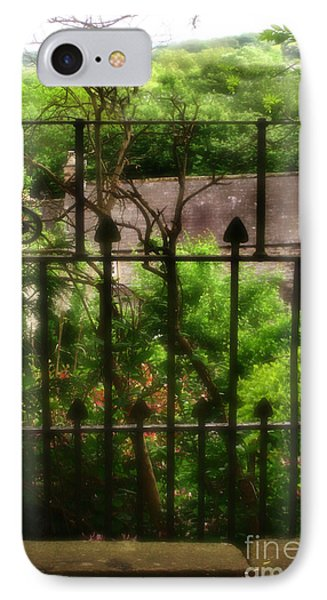 Old Victorian Gate - Peak District - England Phone Case by Doc Braham