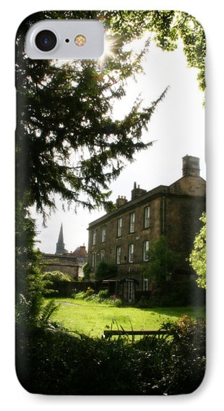 Old Victorian Mansion And Grounds - Peak District - England IPhone Case