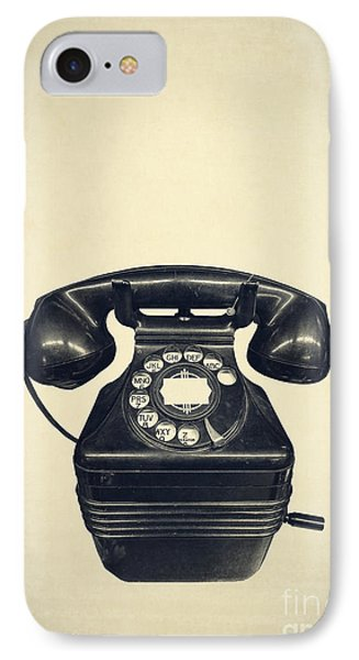Old Vintage Telephone IPhone Case