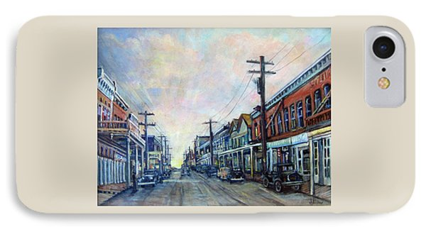 Old Virginia City Phone Case by Donna Tucker