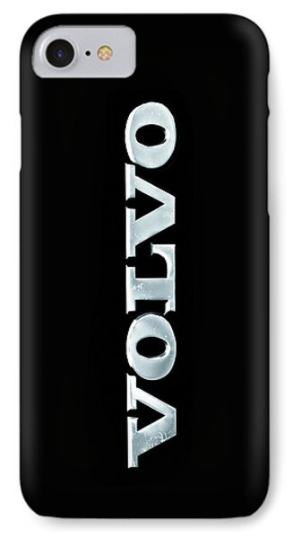 IPhone Case featuring the photograph Old Volvo Emblem by Matti Ollikainen