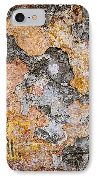 Old Wall Abstract IPhone Case by Elena Elisseeva