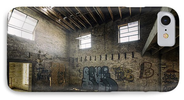 Old Warehouse Interior IPhone Case by Scott Norris