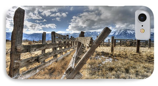 Old Washoe Corral Phone Case by Dianne Phelps