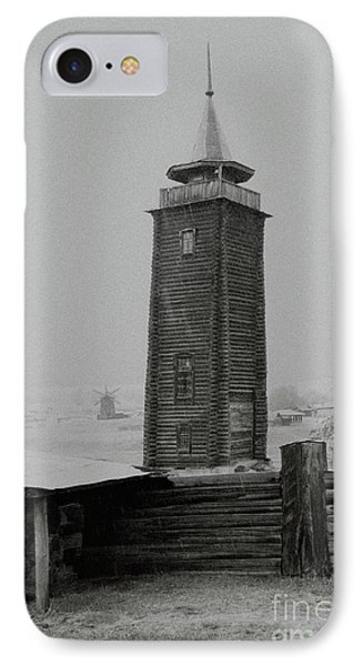 Old Watchtower IPhone Case by Evgeniy Lankin