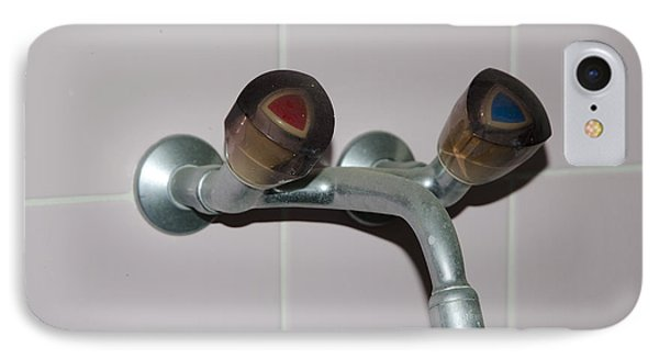Old Water Tap Phone Case by Mats Silvan