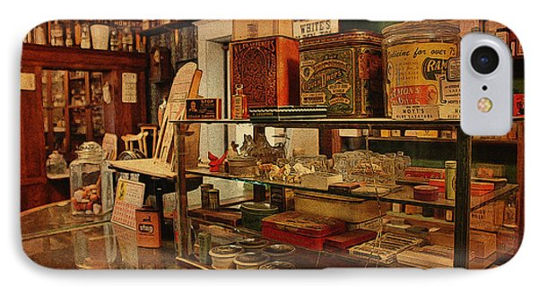 Old Western General Store Counter Phone Case by Janice Rae Pariza